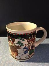 Lucy & Me Lucy Rigg 1994 Teddy bear Coffee Mug Cup Lot B-9