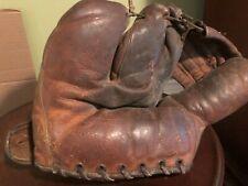 "Vintage Rare  Baseball Glove Antique Hutch 43X FR ""The Magnet"""