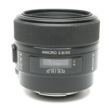 Sony A-Mount 50mm f2.8 Macro Lens