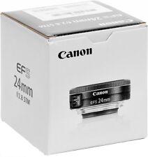 Canon EFS 24mm f/2.8 STM Camera Lens - EF-S2428STM