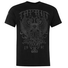"""""""TAPOUT"""" T-shirt Noir 100% Coton Homme - S/M/L/XL/2XL - neuf original étiquetté"""