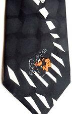 "Looney Tunes Men's Cartoon Novelty Polyester Tie 55"" X 3.75"" Multi-Color"