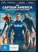 Captain America The Winter Soldier DVD NEW Chris Evans Johansson Robert Redford
