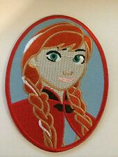 ANNA from  (FROZEN ]LARGER   IRON ON PATCH  BUY 2 GET 1 FREE = 3 of these