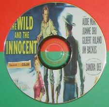 WESTERN 112: THE WILD AND THE INNOCENT (1959) Audie Murphy, Jo Dru, Roland