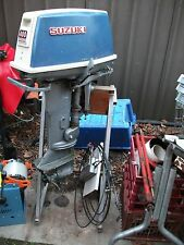 Suzuki 400 outboard motor + stand + control cables + tank working order