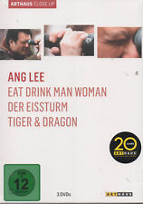 Ang Lee Arthaus Close-Up DVD NEU Eat Drink Man Woman Der Eissturm Tiger & Dragon