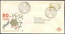 Netherlands 1968 Postal Cheque & Clearing Service FDC First Day Cover #C27316