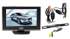 Pyle PLCM4350WIR 4.3'' Monitor Wireless Back-Up Camera System