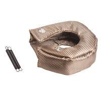 Titanium Turbo Blanket Heat Shield Barrier Cover T3 T28 GT25 30 32 35 XR6 BA BF