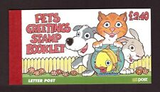 Ireland 1999 Greeting Pets Booklet mint stamps SGSB69