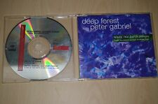 Deep Forest With Peter Gabriel ‎– While The Earth Sleeps. COL662821-2 CD-Maxi