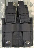 Blackhawk! Tactical Double Pistol Mag Pouch Talon Flex MOLLE Black 37CL10BK NEW