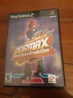 DDRMAX: Dance Dance Revolution (Sony PlayStation 2, 2002) with manual SHIPS FREE