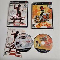 Dance Dance Revolution Supernova & X - Sony PS2 Games Lot of 2 Simulation Konami