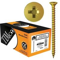 200 x Solo Wood Screw Timco Chippy Screws Pozi Countersunk Multipurpose