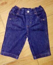 Baby Boy Disney Store Dark Denim Jeans Age 3/6 Months