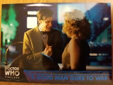 2016 Topps Doctor Who Timeless #79 A Good Man Goes to War BLUE 34/99
