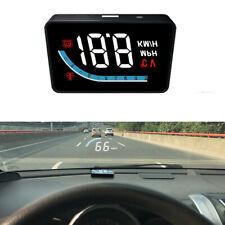 Car Digital GPS Speedometer Head Up Display MPH/KMH Overspeed Warning Alarm