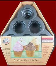 NEW! Wilton Dimensions **ICE CREAM CONE** Mini Cake Pan #5010