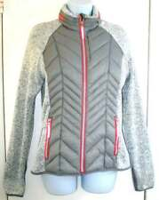 NWT XERSION  Lightweight Silver Combined Women's Jacket Size Medium  MSRP $100