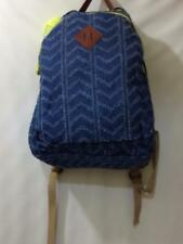 Madden Girl Backpack Distressed Denim Blue School Bag Large NEW NWT