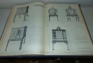 1938 THE GENTLEMAN & CABINET MAKER'S DIRECTOR Thomas Chippendale REFERENCE