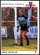 John Martin AIRDRIEONIANS #288 CARD PANINI CALCIO 1992 (c358)