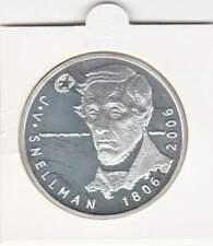 Finland 10 euro 2006 Proof zilver PP: Johan Vilhelm Snellman
