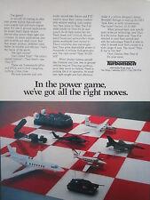 6/1981 PUB TURBOMACH SAN DIEGO TITAN II GEMINI APU GPU SYSTEM ORIGINAL AD