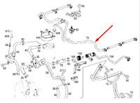MB SPRINTER 906 Fuel Injector Return Hose A6420708132 3.0 Diesel NEW GENUINE