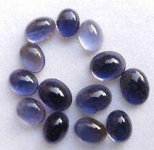 15.70 CT Natural Blue Iolite Gemstone Oval Cabochon Wholesale Lot