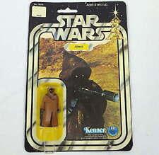 Vintage Kenner Star Wars Jawa Vinyl Cape Action Figure 12 Back Card 1977