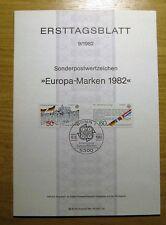 Briefmarken-Ersttagsblätter als Satz mit Sonderstempel
