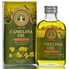 Siberian Camelina Oil, Premium Quality, Extra Virgin, First Cold Press, 100 ml