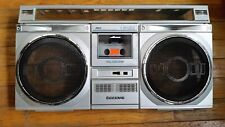 Vintage Sanyo M9935K Boombox Parts for 1 One Front Cabinet