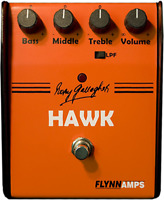 Rory Gallagher Hawk Booster Overdrive Pedal by Flynn Amps