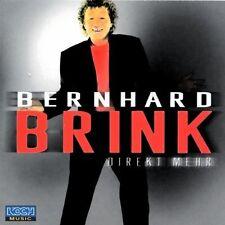CD Album Bernhard Brink Direkt mehr (Ich bin frei, Kein Liebeslied) Koch 2001