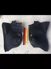 VW GOLF MK2 84-92 GENUINE DEEP PILE REAR TUB TURRET BOOT BLACK CARPETS LHD RHD