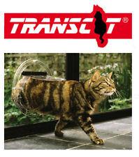 TRANSCAT 4 Way Cat Dog Pet Door for Glass Doors, Glass Panels -12 Month Warranty