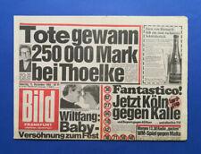 Bild Zeitung - 15. 12. 1984 - Katja Bienert * Julia Biedermann * Andrej Sacharow