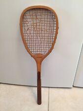 Antique Vintage Tennis Racket Racquet - Edw. B. Clapp, Worcester - Young America