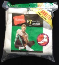 men's hanes 7 cushion ankle sock 6-12