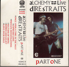 "K 7 AUDIO (TAPE)  -DIRE STRAITS- ""ALCHEMY / LIVE"""