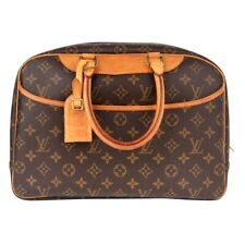 Louis Vuitton Bag Deauville Bowling Vanity Monogram Zip Around