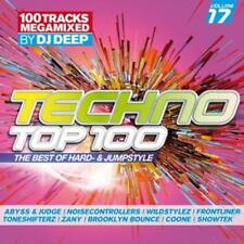 Techno Top 100/vol. 17 megamixed by Dj Deep - 2cd-The Best of hard & Jumpstyle