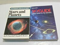 Stars and Planets Skyguide Peterson Golden Field Guides LOT Moon Constellations
