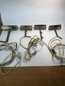 4 Vintage Picture Lights Not Tested