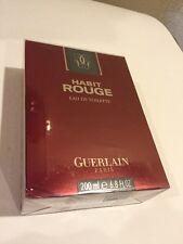 Habit Rouge by Guerlain EDT 6.8oz/200ml SPLASH - NIB