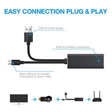 Ethernet Adapter Kabel für Fire TV Stick Micro USB zu RJ45 LAN Netzwerk Adapter